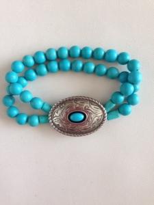 concho bracelet double